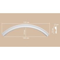 Радиус [1/4 круга] Decomaster 897174-150 (Rнар. 835 | Rвн. 750)